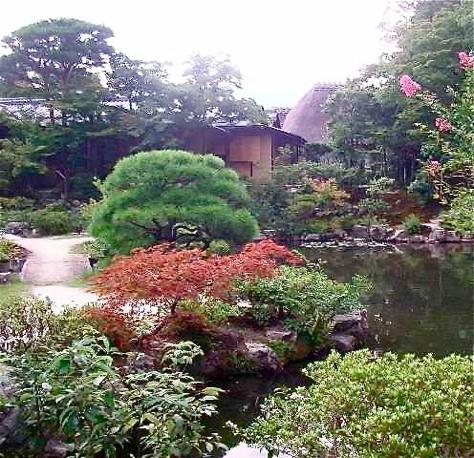 Jardin japonais Isuien