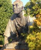 Statue du samourai de Kyoto