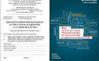 Parution : Des innovations pédagogiques et éducatives en réponse à la crise de l'école