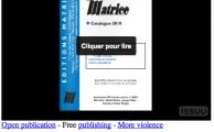 Les nouveautés 2010-2012 de Matrice : nos derniers livres. Place à Champ social.
