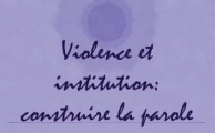 Violence et institution