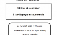 CEÉPI  STAGE Août 2018 Collectif Isérois